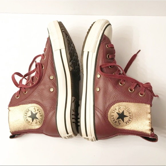 Converse Chuck Taylor Maroon Leather